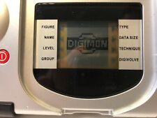 Authentic Digimon D-Terminal Digivice Electronic Database Toy Bandai 2000 RARE