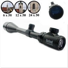 Bushnell Banner 6-24x50mm AOE Elite ERS Rifle Scope +Free 20mm Rail Crosshair
