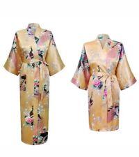 Satin Short Gold/Yellow Robes