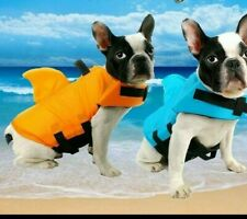 Pet Dog Life Jacket Dog Swimsuit Large Small Dog Shark Safety Swimming Life Vest