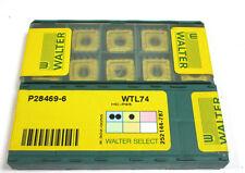 10 lastre di svolta inserts p28469-6 wtl74 HC p35 di Walter NUOVO h16101