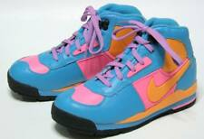 New Nike Baltoro(Gs) Le Colorful Blue Leather Boots Very Cute Us 2Y