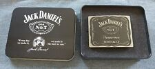 JACK DANIEL'S OLD NO 7 BRAND COLLECTOR'S TIN AND BELT BUCKLE AUTHENTIC PRODUCT