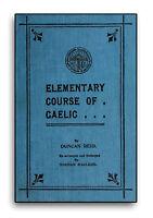 Learn Scottish Gaelic Language 160 Rare Books on DVD Grammar Speak Read Write E4