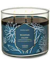 White Barn Winter Daisy Three Wick 14.5 Ounces Scented Candle