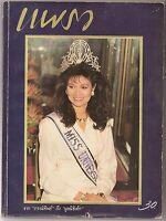 1988 Miss Universe Thailand Pornthip Nakhirankanok THAI Magazine Book MEGA RARE!