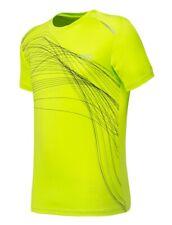 Men's Sport T-shirt Top Crew Neck Short Sleeve Designer Quick Dry Athletic Tee