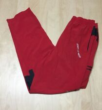 Athletic Recon Red Pants Mens Size M Elastic Drawstring Waist,  Nice