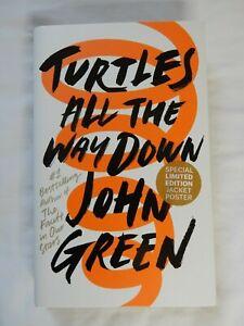 Turtles All The Way Down by John Green (Hardback Fiction Novel)