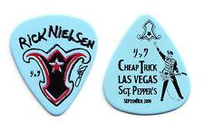 Cheap Trick Rick Nielsen Light Blue Las Vegas Guitar Pick - 2009 Tour