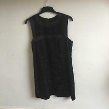 French Connection ladies gorgeous black dress size 12 mini party dress