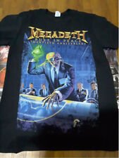 Vintage Megadeth Rust In Peace 20th Anniversary Shirt Gildan Reprint New US Size