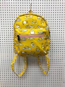 """Gudetama yellow 8.5"""" adult backpack kids satchel bags shoulder bag fashion"""