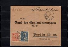 Brief aus Georgien an den Bund der Auslandsdeutschen nach Berlin 25.12.1920