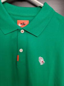 New Rare Nike Masters Praying Hands Amen Corner Polo Golf Shirt Augusta Frank L