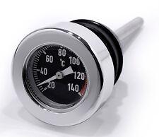 OLIO righello si Celsius temperatura peilstab PER HARLEY Twin Cam Softail Termometro