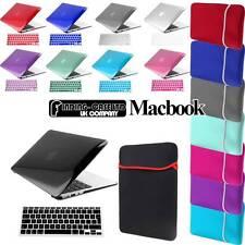 Bolsa De Neopreno paquete brillante caso + + Teclado Piel Cubierta Para Apple Macbook