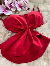 Blu motion red padded underwired Camisole Top sleepwear nightwear size M