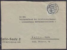 DR Dienst Mi Nr. 151 EF Brief, gel. in Hlle 1943
