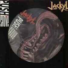 Jackyl  -  Push comes to shove - Picture-Maxi  von 94, rar , Platte ungespielt