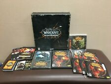 MIB BLIZZARD WORLD OF WARCRAFT WOW CATACLYSM COLLECTOR'S EDITION PC MAC GAME