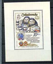 Czechoslovakia 1979 SG#MS2454 Space Flight Cosmonauts MNH M/S #A35533