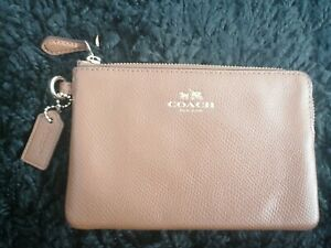 Coach leather purse wallet used