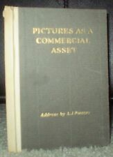 SIGNED, 1ST ED, ARTIST FRANK SCHOONOVER'S COPY, PICTURES AS A COMMERCIAL ASSET
