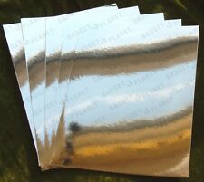 Test SAMPLE Sheet - MIRROR ON A ROLL Self Adhesive ARTS & CRAFT Nursery Schools