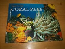 WEBS OF LIFE Coral Reef by Paul Fleisher 1998 Hardcover Old Library