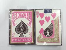 1 DECK New Fashion Bicycle Playing Cards PINK BROWN S10322420-11