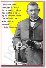 Booker T. Washington - African American Author & Political Leader NEW POSTER