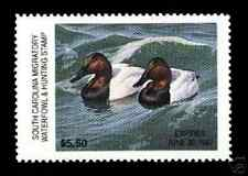 SOUTH CAROLINA SC 6 DUCK STAMP