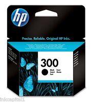 HP No 300 Black Original OEM Inkjet Cartridge CC640EE Deskjet Printer