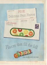 1951 Life Savers Letter PRINT AD