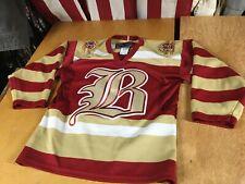 SP Oklahoma City OKC BLAZERS Hockey JERSEY Boys Youth S/M CHL Sewn Stitched On