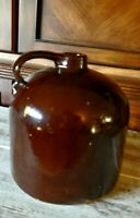 Vintage Antique Red Wing Minnesota Stoneware Co Brown Jug Crock Rustic