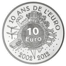 """Semeuse 2012 """"10 ans de l'Euro"""" - 10€ Argent BE - Monnaie de Paris"""