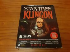 Star Trek Klingon RARE FIRST EDITION PC BIG BOX