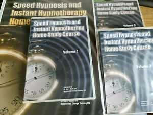 Speed Hypnosis & Instant Hypnotherapy Home Study Course-12 CD - Huge Manual