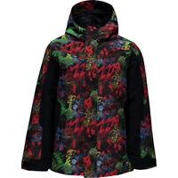 Spyder Kids Boys Marvel Hooded Jacket, Ski Snowboard Jacket, Size XL(16/18 Boys)