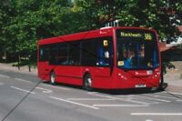 BUS PHOTO LONDON SELKENT PHOTOGRAPH PICTURE DENNIS ENVIRO 200 ON ROUTE 386