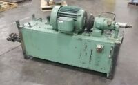 100 Gallon Hydraulic Power Unit 3 Phase 480V PV3200R-32002-30 Delavan #3880SR