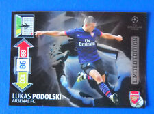 CARD ADRENALYN CHAMPIONS LEAGUE 2012/13 - PODOLSKI - ARSENAL - LIMITED EDITION