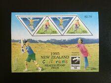 "NEW ZEALAND. 1995 HEALTH. ""STAMPEX 95""  MINI STAMP SHEET  -:-  VERY NICE M.U.H."