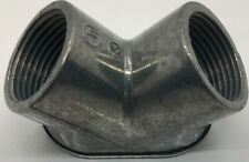 Hl602 Stl-Cty Lot Of 5 3/4-Inch Pull Corner Elbow Die Cast Zinc For Use With Rig