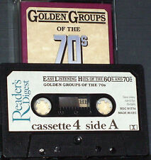 HITS  GROUPS OF THE 70'S CASSETTE 4 RDC9177 ABBA PRESLEY ESSEX BEE GEES TAMS 24T