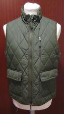 Gilet verde trapuntato EUR 46 H&M Green Waistcoat 36R