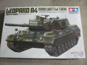 New & Sealed Static Tamiya 1/16 Leopard 1 A4 West German Main Battle Tank No. 7
