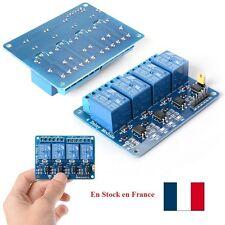 5V 4 canaux Conseil Module de relais pour Arduino PIC AVR MCU DSP ARM FR TE180